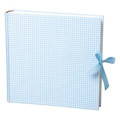 Album Xlarge,booklinen cover,130pages,cream white mounting board,glassine paper,Vichy blue