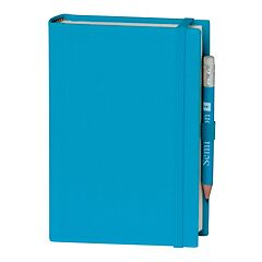 Travel Diary Petit Voyage, 304 pages of laid paper, plain, turquoise