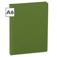 Notebook Classic (A6) book linen cover, 160 pages, plain, irish
