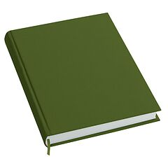 Notebook History Classic (A4) book linen cover, 160 pages, plain, irish