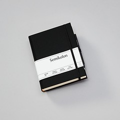Travel Diary Grand Voyage, 304 pages laid paper, plain, black