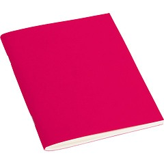 Filigrane Journal A6 with laid paper, 64 pages, plain, pink