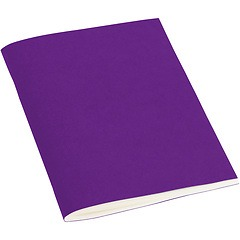 Filigrane Journal A6 with laid paper, 64 pages, ruled, plum