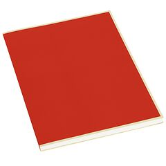 Paperpad (A4) 100 sheets, 80g/m², red
