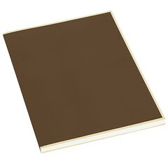 Paperpad (A4) 100 sheets, 80g/m², brown