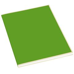 Paperpad (A4) 100 sheets, 80g/m², lime