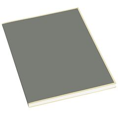 Paperpad (A4) 100 sheets, 80g/m², grey