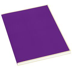Paperpad (A4) 100 sheets, 80g/m², plum