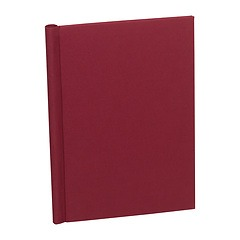 Classical European Clampbinder (A4) 1-100 sheets, burgundy