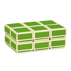 Little Gift Boxes (Set of 12), lime