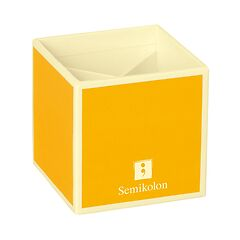 Pencil Cup with 4 separate compartments, sun