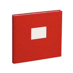 Guestbook, 240 pages, red