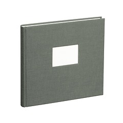 Guestbook, 240 pages, grey
