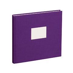 Guestbook, 240 pages, plum