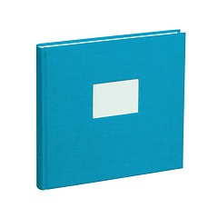 Guestbook, 240 pages, turquoise