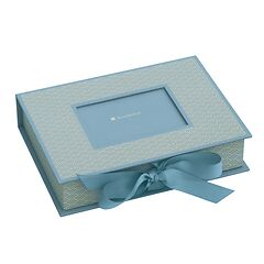 Small Photobox with cut out window, ciel
