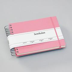 Mini Mucho Album cream flamingo, 90 p. cream 270 g/m² photo card, 2 pockets, elastic clos