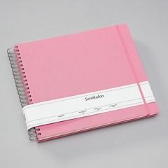 Maxi Mucho Album cream flamingo, 90 p. cream 270 g/m² photo card, 2 pockets, elastic clos