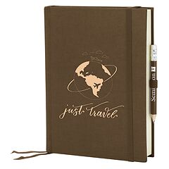 Grand Voyage plain brown, Just Travel Edition, 272 pages
