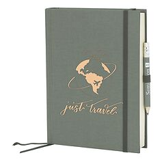 Grand Voyage plain grey, Just Travel Edition, 272 pages