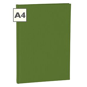 Notebook Classic (A4) book linen cover, 160 pages, ruled, irish