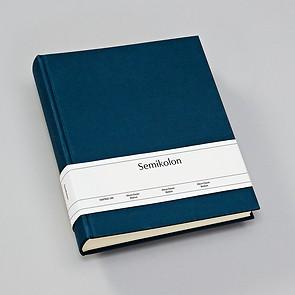 Album Medium, booklinen cover, 80pages, cream white mounting board, glassine paper, marine