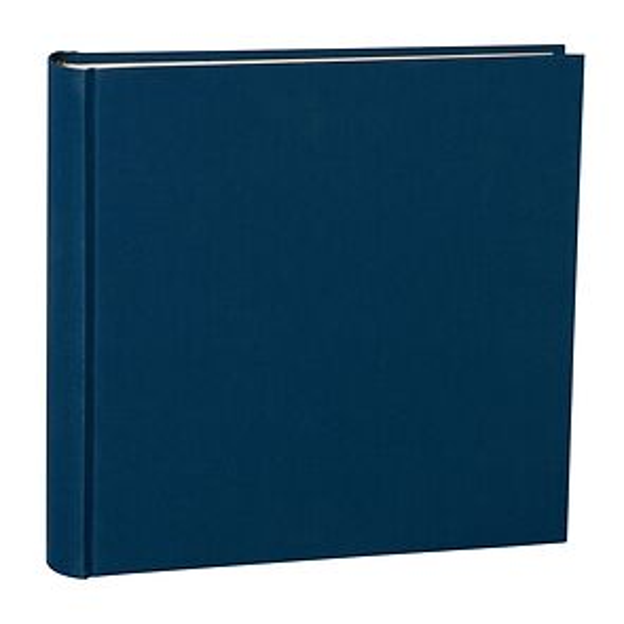 Album XXlarge, booklinen cover, 150 p., cream white mounting board, glassine paper, marine