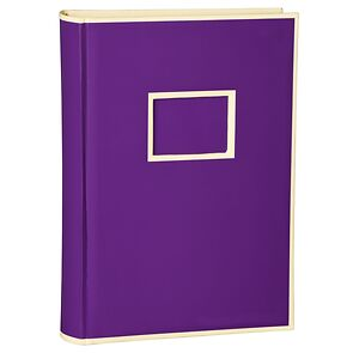 300 Pocket Album, 100 pages, photos 10 x 15 cm, plum