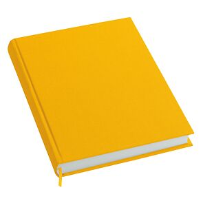Notebook History Classic (A4) book linen cover, 160 pages, plain, sun
