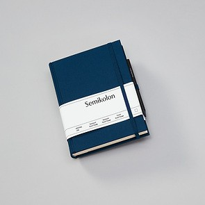 Travel Diary Grand Voyage, 304 pages laid paper, plain, marine