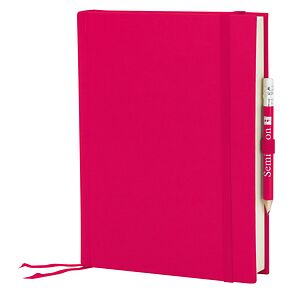 Travel Diary Grand Voyage, 304 pages laid paper, plain, pink