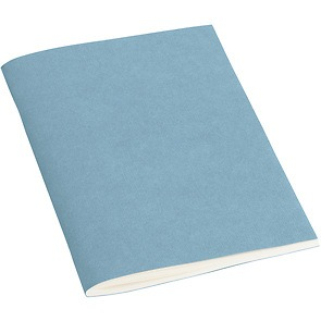 Filigrane Journal A6 with laid paper, 64 pages, ruled, ciel