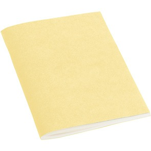 Filigrane Journal A6 with laid paper, 64 pages, ruled, chamois