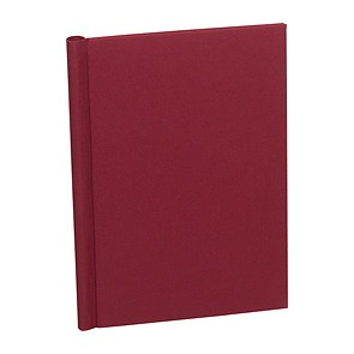 Classical European Clampbinder (A4) 1-100 sheets, burgundy