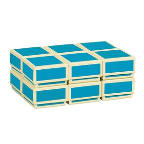 Little Gift Boxes (Set of 12), turquoise