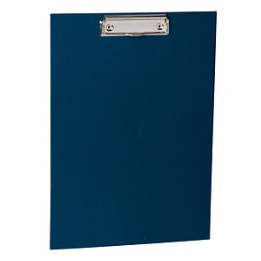 Clipboard with metal clip, efalin cover, marine