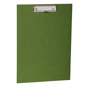 Clipboard with metal clip, efalin cover, irish