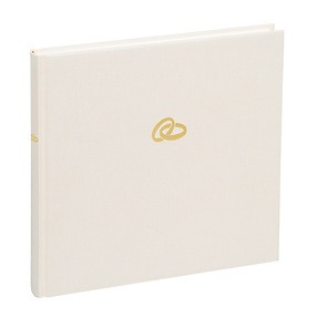 Guestbook, 240 pages, chamois, rings