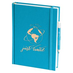 Grand Voyage plain turquoise, Just Travel Edition, 272 pages