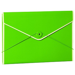 Envelope Folder with elastic closure band