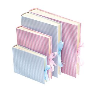 Album Vichy Small with linen binding