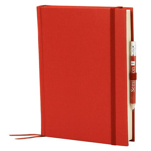 Travel Diary Grand Voyage, 304 pages laid paper, plain, red