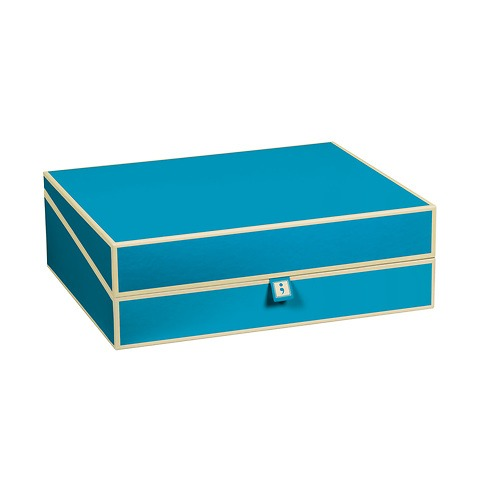 Document Box (A4) and letter size, turquoise