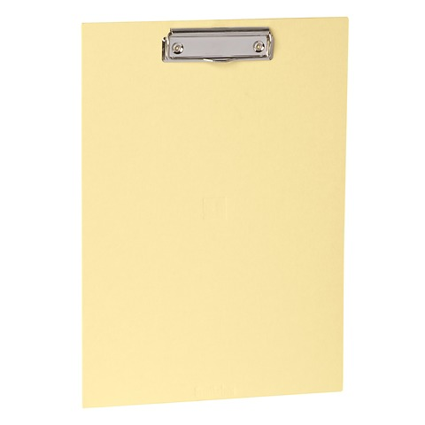 Clipboard with metal clip, efalin cover, chamois