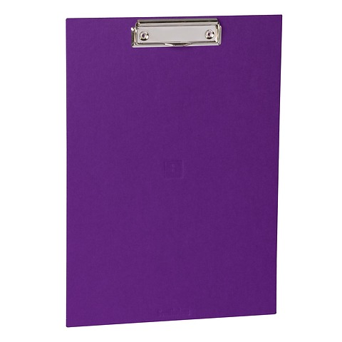 Clipboard with metal clip, efalin cover, plum
