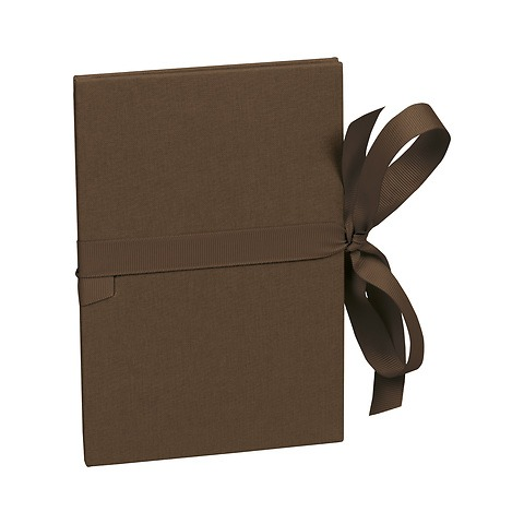 Leporello small, 14 photos - size 10 x 15cm, brown