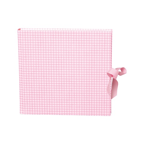 Guestbook, 240 pages, vichy pink