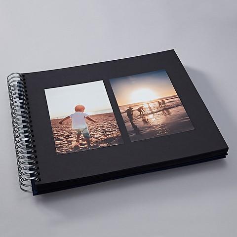Maxi Mucho Album, black Pages, azzurro