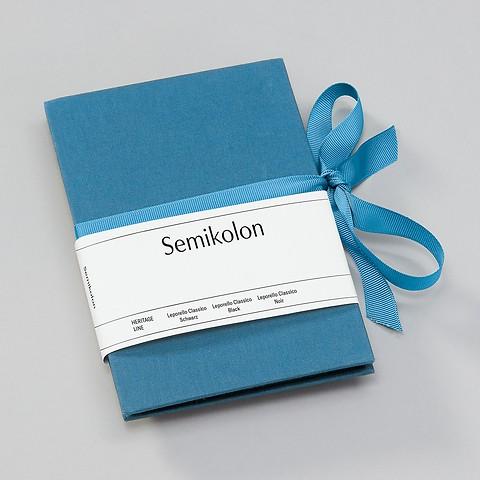 Leporello Classico, azzurro