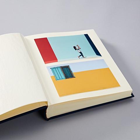 Album Classic Medium Finestra  with window for cover picture, flamingo